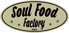Logo Soul Food Factory Hanauer Landstr. 124 Frankfurt am Main